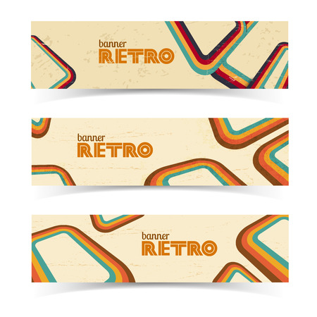 Vintage Horizontal Banners Stock Vector - 85185743