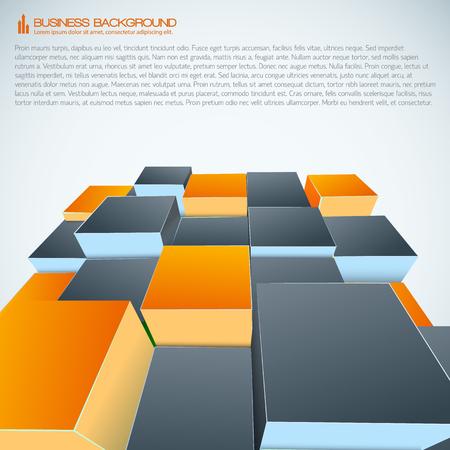 Isometrischer moderner betriebswirtschaftlicher Hintergrund Standard-Bild - 85185759