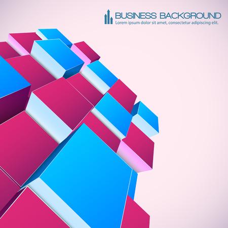 Isometrischer abstrakter Hintergrund für Geschäft Standard-Bild - 85386848