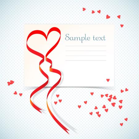Liebe Geschenkkarte Standard-Bild - 85545802