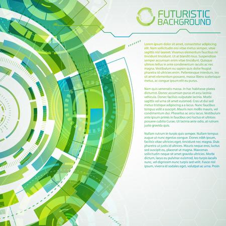 Freshness Circles Design Elements Illustration