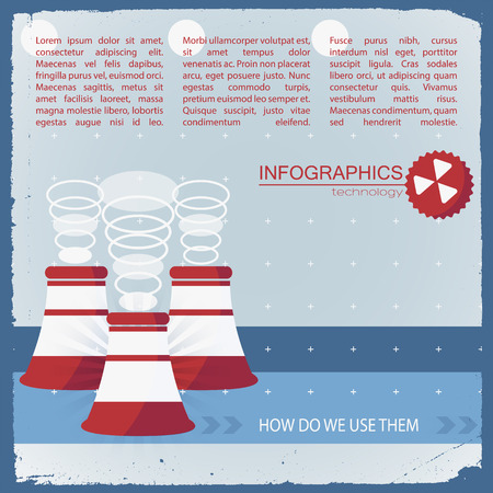 advantages: Usage Of Technology Infographics Illustration