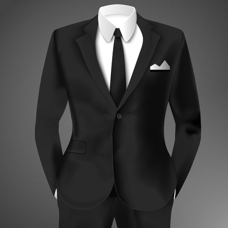 Business Suit Template Illustration