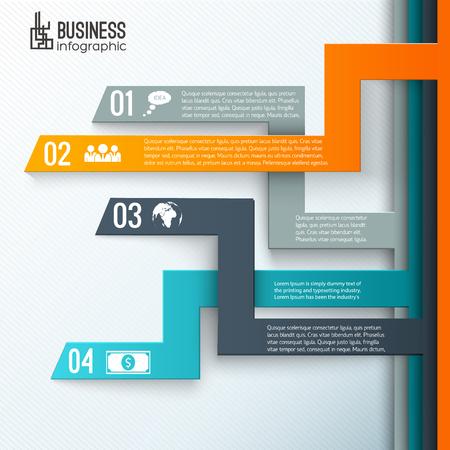 Modern Design Business Background Ilustração