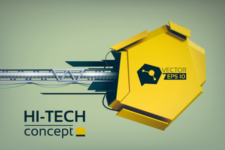 technologic: Hi-Tech Digital Concept Illustration