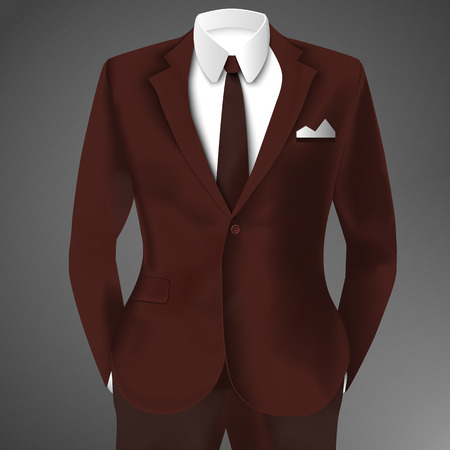 Elegant Man Suit