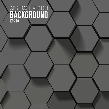 Geometric Hexagonal Abstract Background