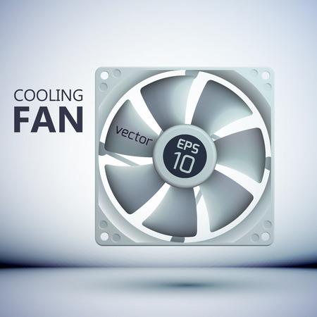 Technologie système de refroidissement modèle Banque d'images - 86152941