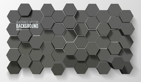 Futuristic Geometric Background Vectores