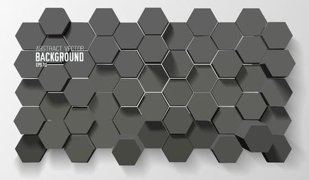 Futuristic Geometric Background Illustration
