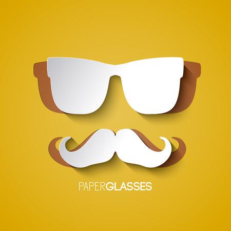 Hipster Design Elements.
