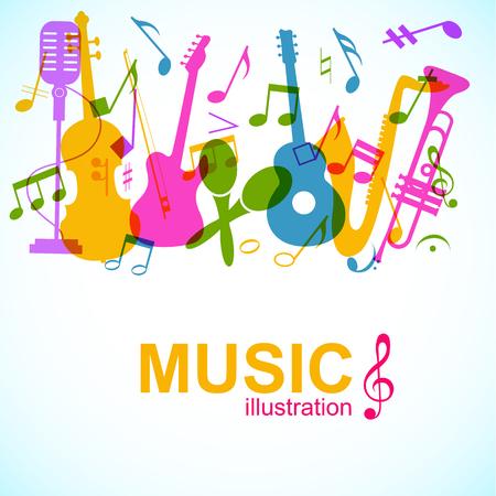 抽象音楽ポスター