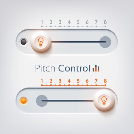 User Interface Design Concept Иллюстрация