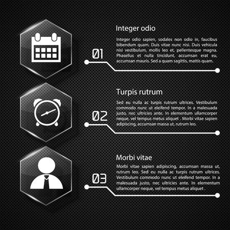 ウェブインフォグラフィックコンセプト