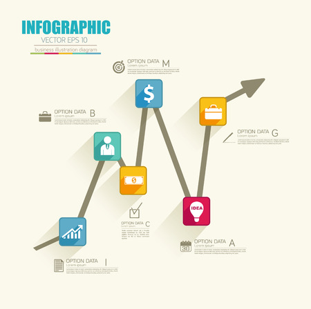 Infographic Business Concept Illustration