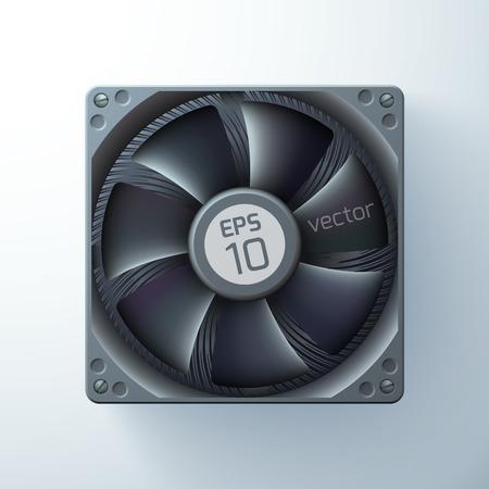 Realistic Cooling Ventilator Tempate