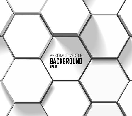Abstract light geometric background Stock Illustratie
