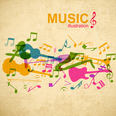 Muziekontwerpconcept