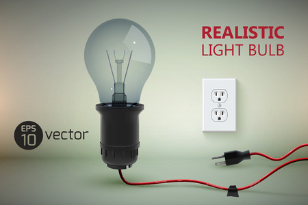 Réaliste lampe de détresse fond Banque d'images - 87285262