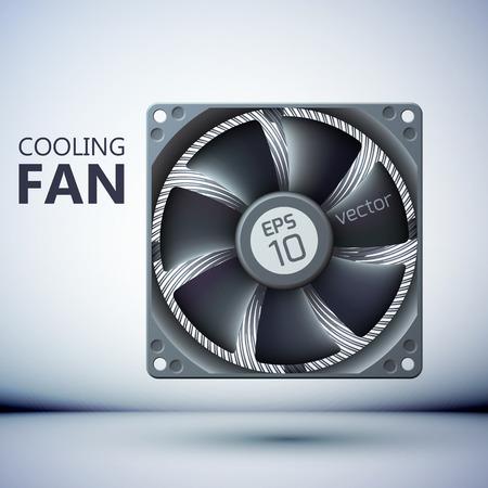 Realistic Computer Fan Template