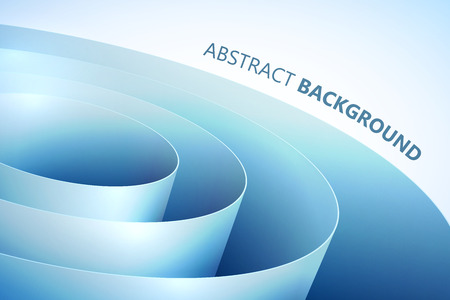 Abstract Light Template Illustration