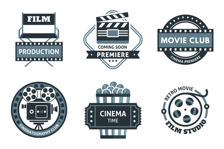 Cinema Label Set