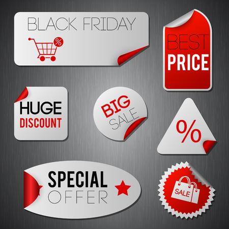 Black Friday-stickers