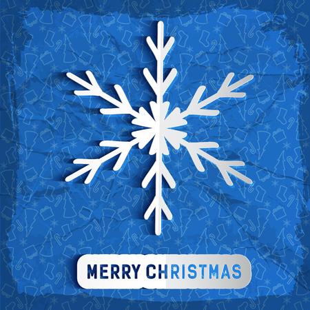 Merry Christmas Congratulatory Background