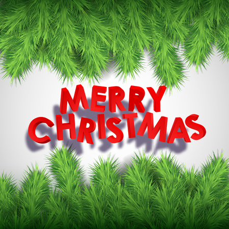 Merry Christmas Abstract Background Иллюстрация