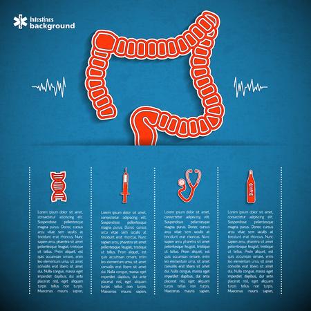 Menselijke organen concept Stockfoto