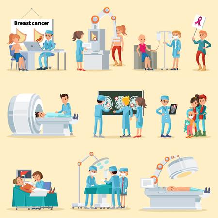 Kolekcja ludzi i chorób nowotworowych.