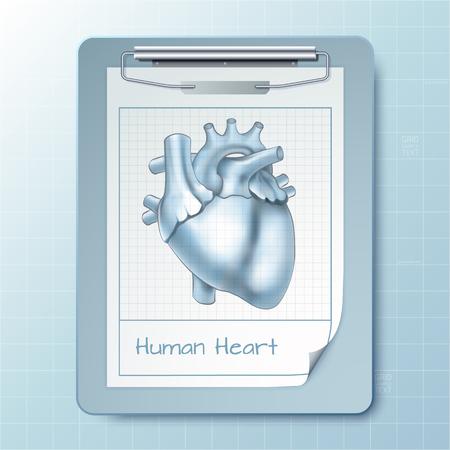 Medical Notepad Background