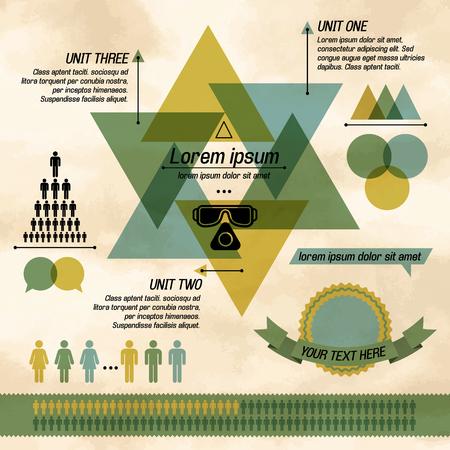 Khaki Business Diagram Infographic