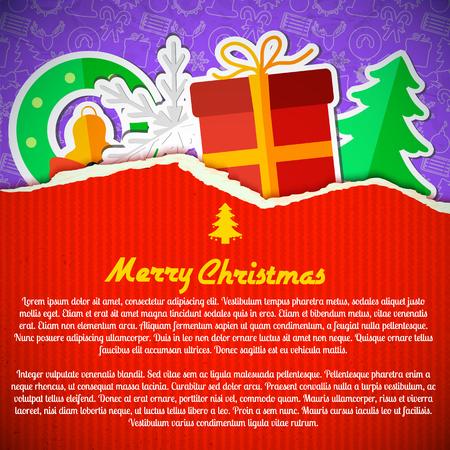 Merry Christmas Festive Template