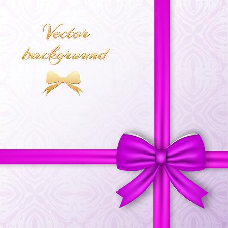 Gift Card Template vector Illusztráció