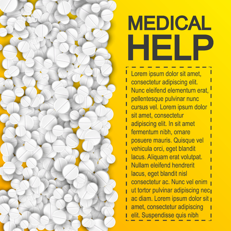 Pharmaceutical Medical Help Poster.
