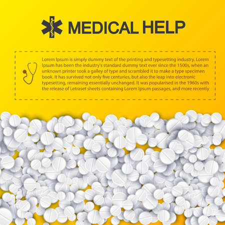 Healthy Medical Help Template.