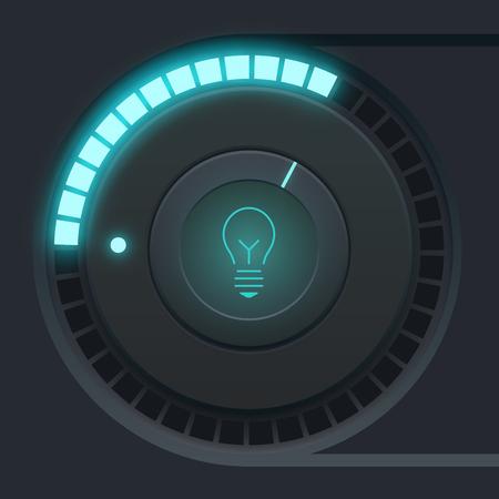 User Interface Design Concept Illustration