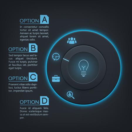 Web Interface Infographics