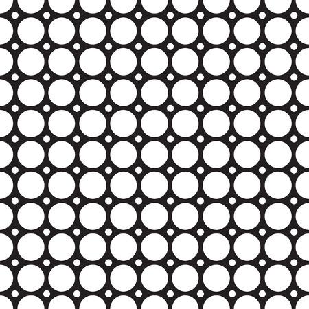 抽象的なグリッドのシームレス パターン  イラスト・ベクター素材