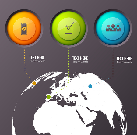 Business Worldwide Concept Background