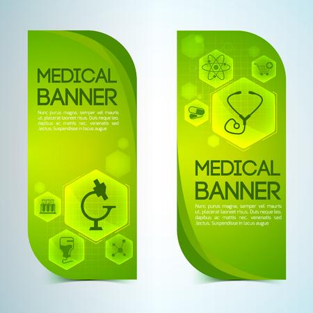 Healthcare Banners Set Çizim