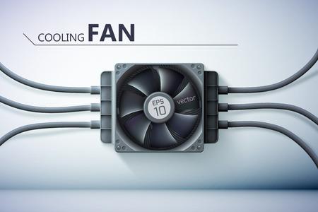 Cooling System Design Concept Ilustracja