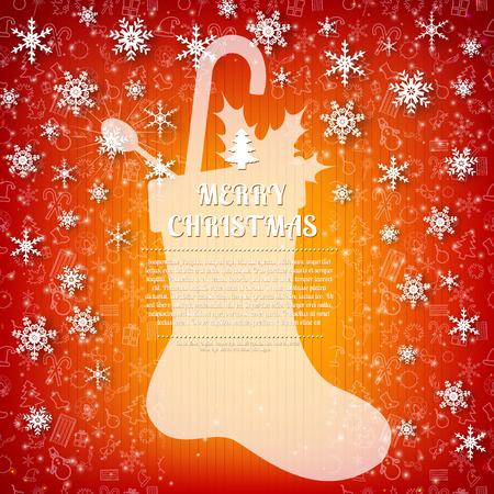Christmas Stocking card design