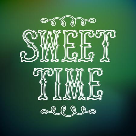 Typographic Design Concept Stock Photo