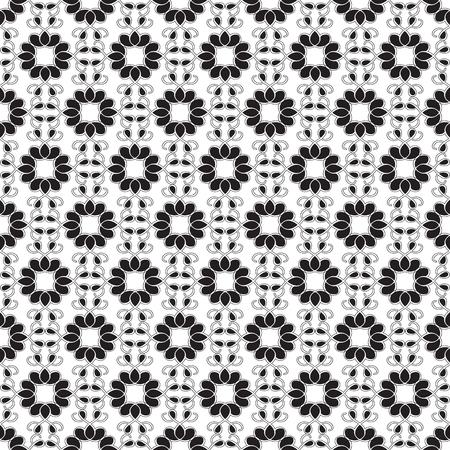 抽象的な幾何学的なシームレス パターン 写真素材