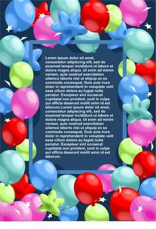 Happy Birthday Festive Template