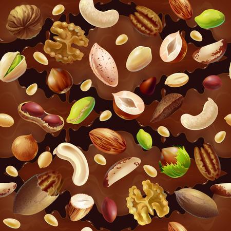만화 다채로운 유기농 식품 원활한 패턴