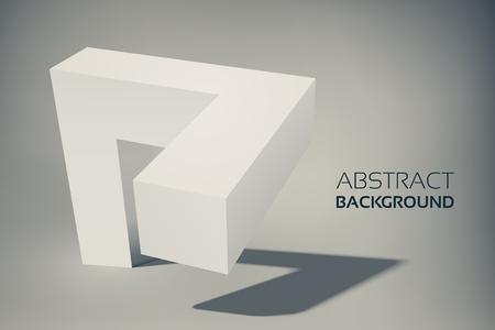 抽象幾何学的テンプレート  イラスト・ベクター素材