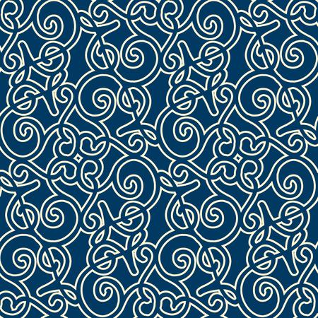 추상 우아한 미니멀리즘 원활한 패턴입니다. 일러스트